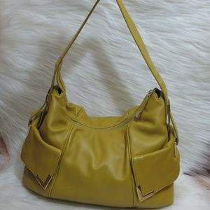 Michael Kors | Mustard Yellow | Leather Shoulder